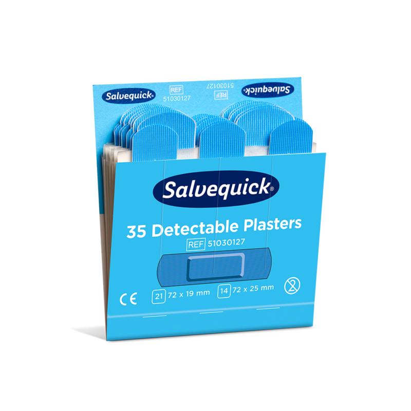 Salvequick kék steril tapasz