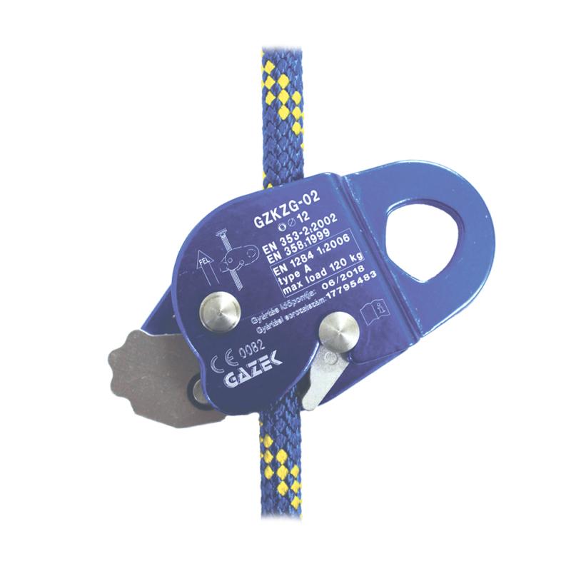 GZKZG-02 Nyitható zuhanásgátló készülék